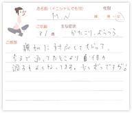 M.Nさん 31歳 女性