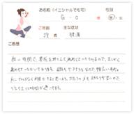 G.Oさん 28歳 男性