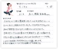 T.ミキコさん 63歳 女性